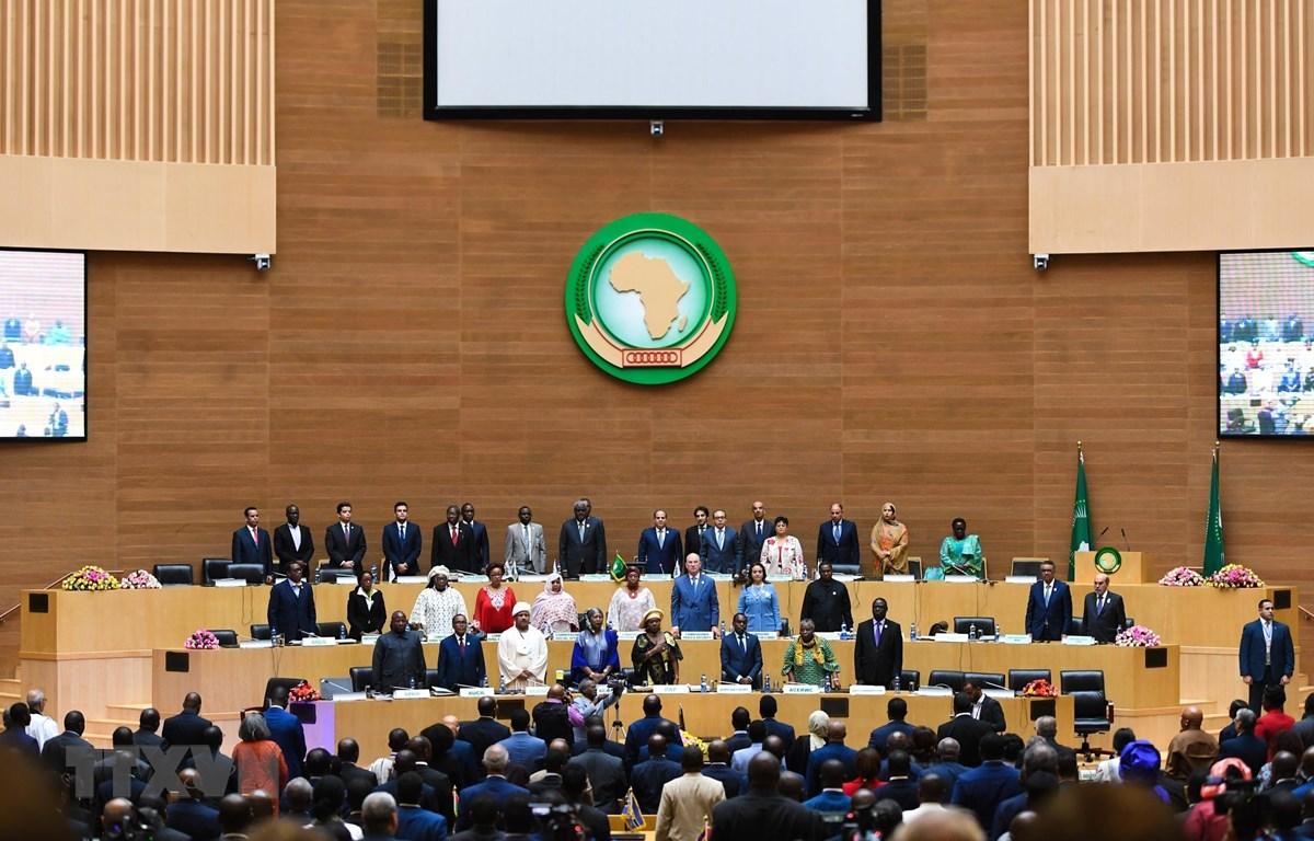 Hội nghị thượng đỉnh AU lần thứ 32 ở Addis Ababa, Ethiopia, ngày 11/2/2019. (Ảnh: THX/ TTXVN)