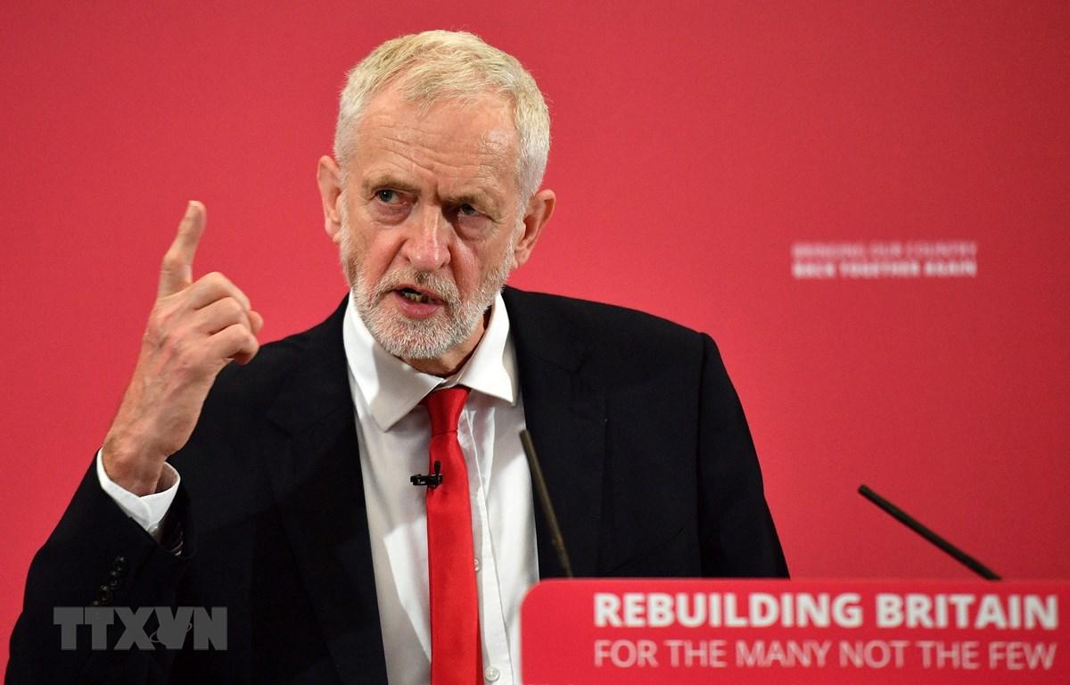 Chủ tịch Công đảng Jeremy Corbyn. (Nguồn: AFP/TTXVN)