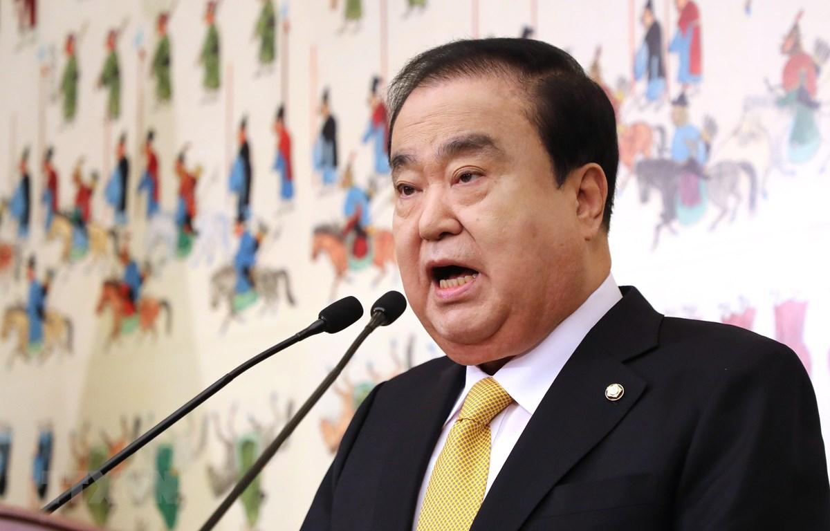 Chủ tịch Quốc hội Hàn Quốc Moon Hee-sang. (Ảnh: Yonhap/TTXVN)
