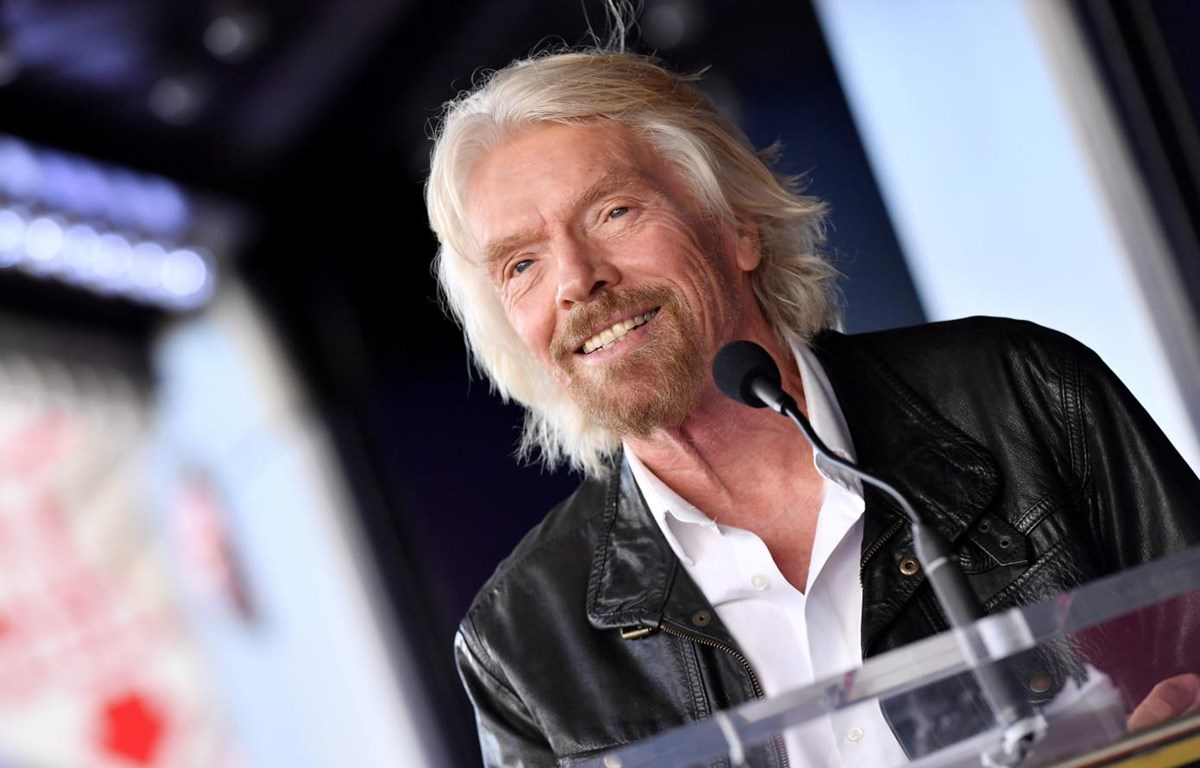 Tỷ phú Richard Branson. (Nguồn: techcrunch.com)