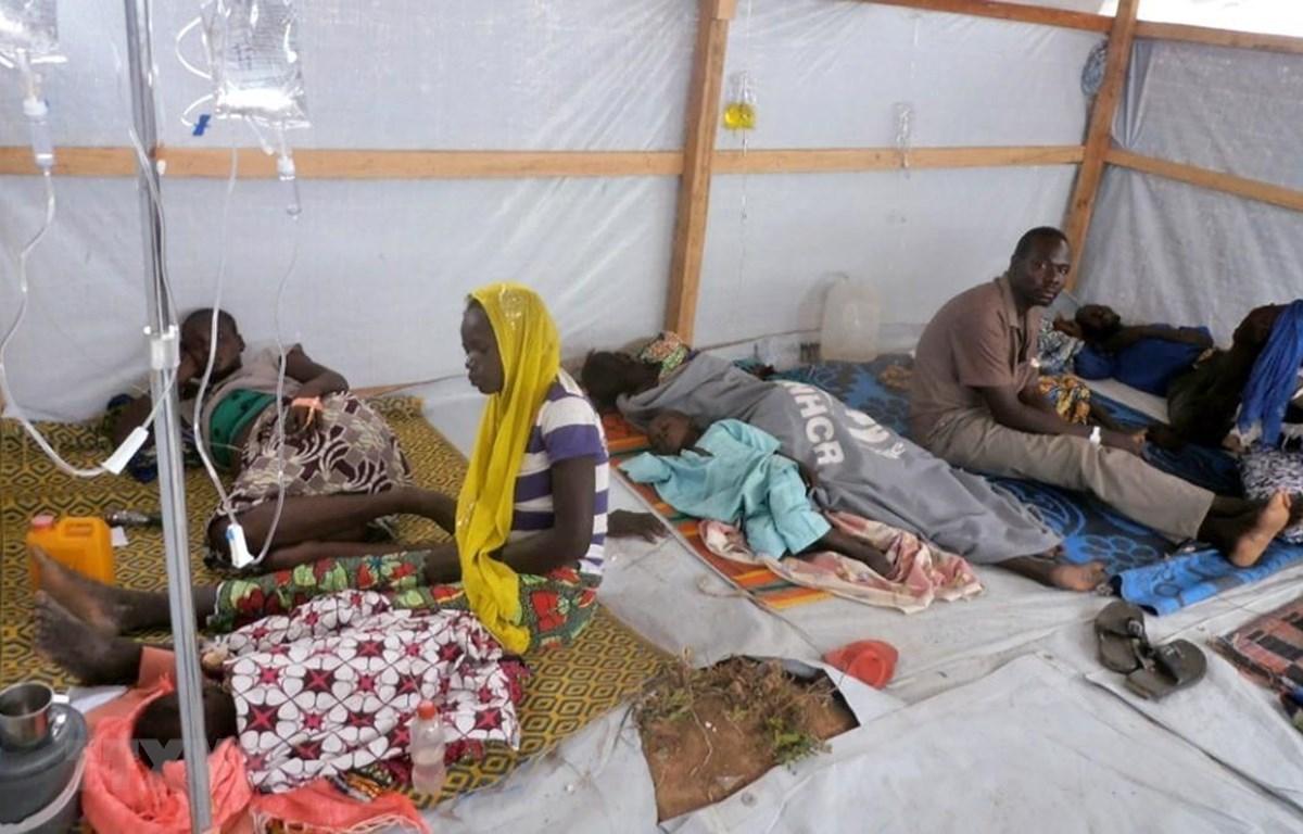 Một trạm cấp cứu dành cho những bệnh nhân mắc bệnh tả tại Cameroon. (Ảnh: TTXVN)