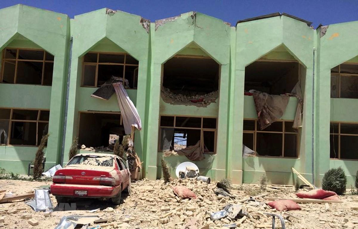 Cảnh sát điều tra tại hiện trường một vụ tấn công tại Zabul, Afghanistan. Ảnh minh họa. (Nguồn: AFP/TTXVN)