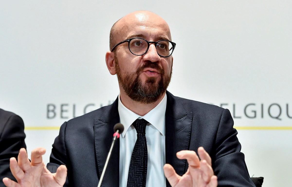 Thủ tướng Bỉ Charles Michel. (Ảnh: AFP/TTXVN)