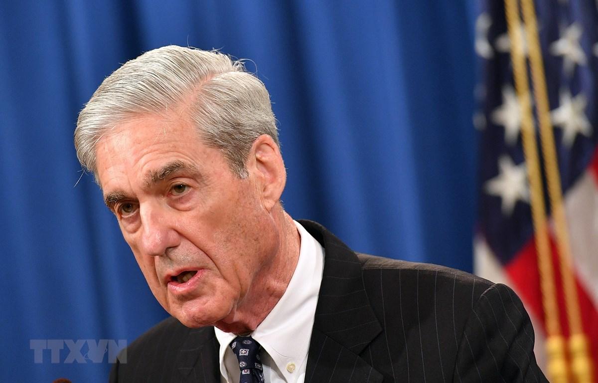 Công tố viên đặc biệt Robert Mueller. (Ảnh: AFP/TTXVN)