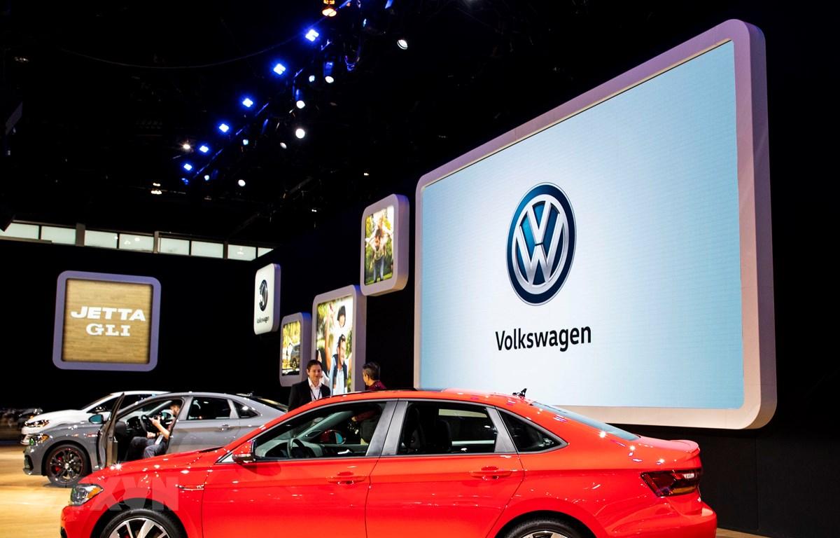 Mẫu ôtô của hãng Volkswagen được giới thiệu tại Triển lãm ô tô Chicago, Mỹ, ngày 7/2/2019. (Ảnh: THX/ TTXVN)