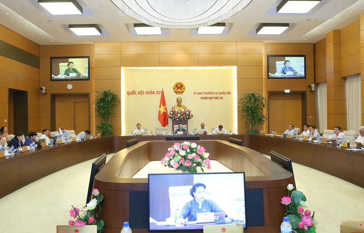Quang cảnh phiên họp tổng kết kỳ họp thứ 7. (Ảnh: Doãn Tấn/TTXVN)