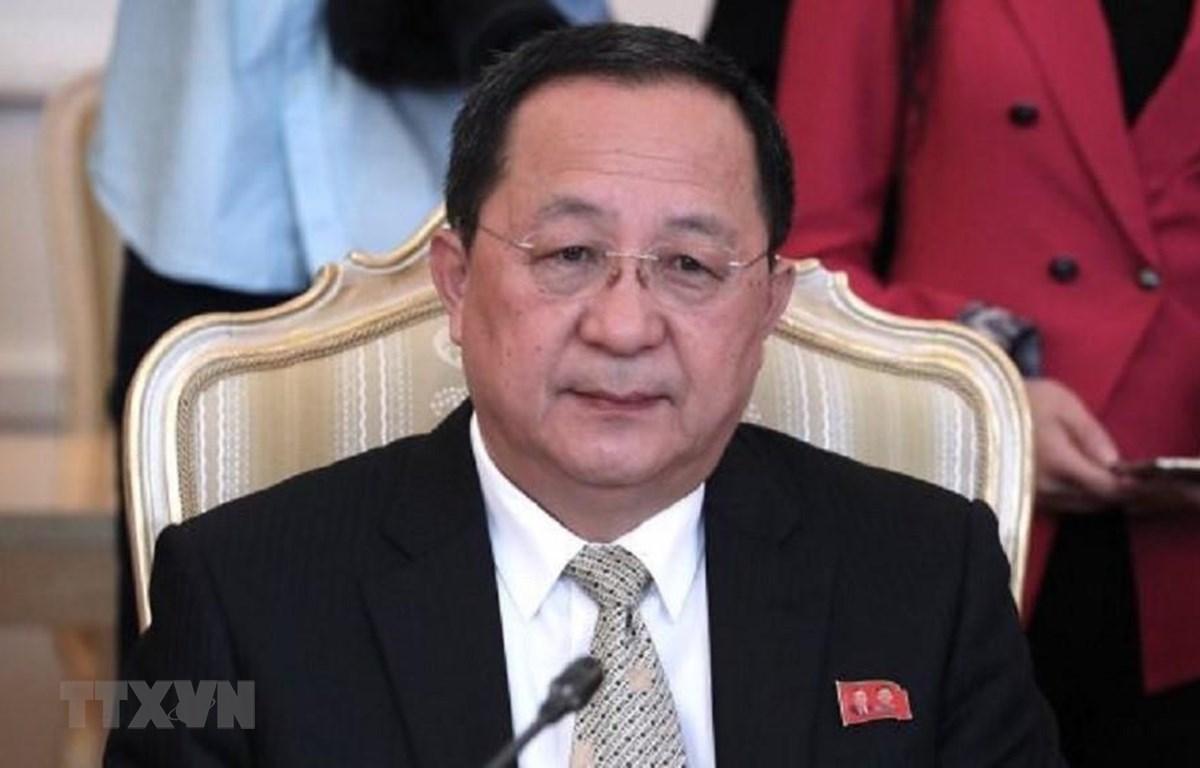 Ngoại trưởng Triều Tiên Ri Yong-Ho sẽ không tham dự Diễn đàn khu vực ASEAN (ARF) tại Bangkok. (Ảnh: IRNA/TTXVN)