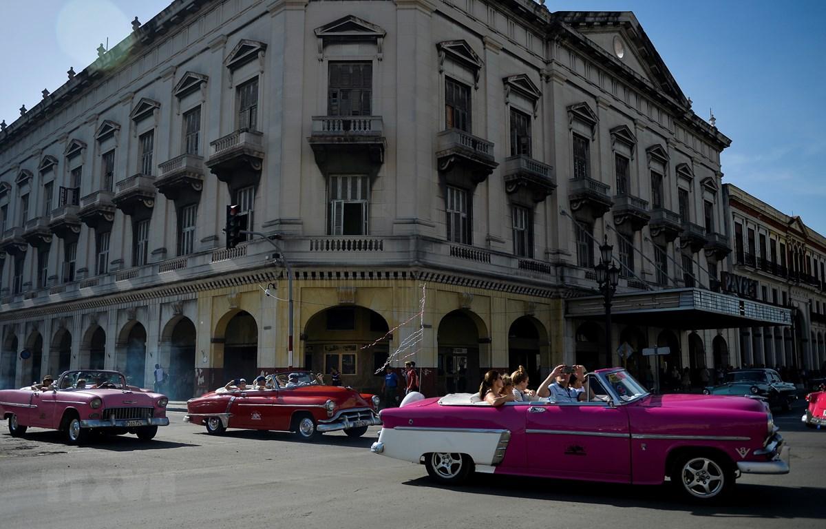 Quang cảnh đường phố La Habana, Cuba, ngày 11/6/2019. (Ảnh: AFP/TTXVN)