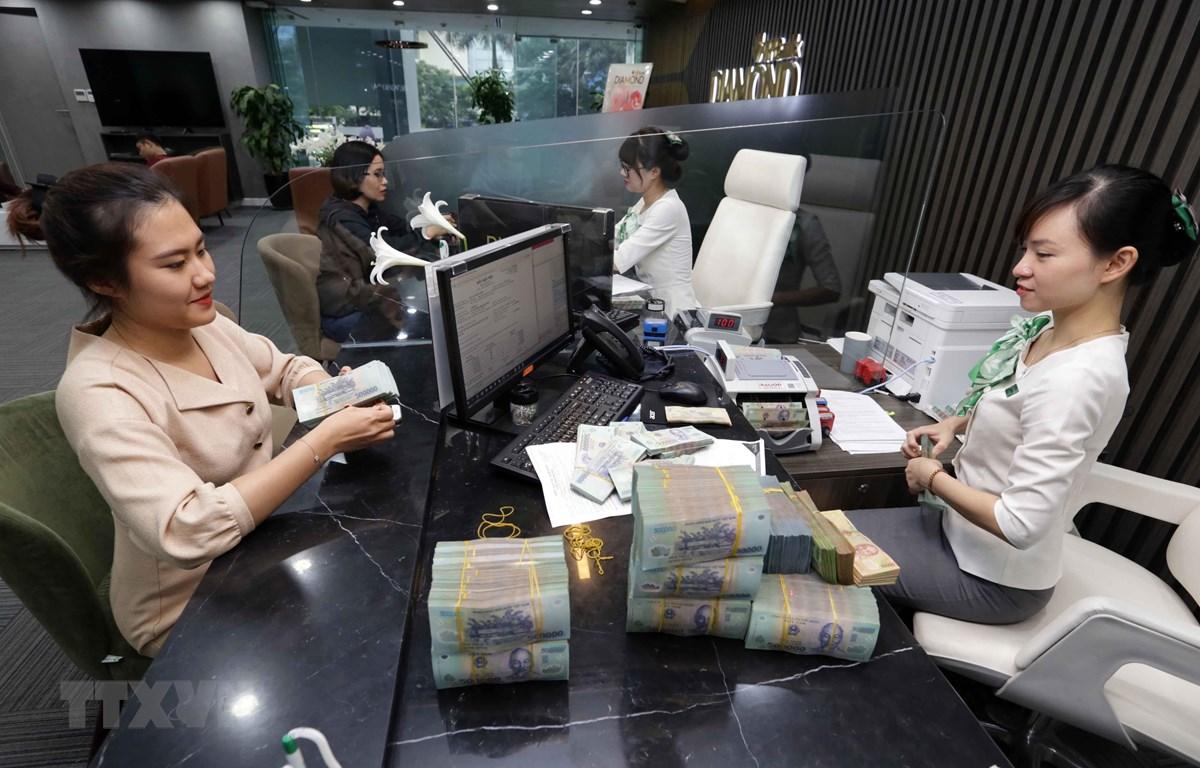 VPBank là một trong 50 công ty kinh doanh hiệu quả nhất Việt Nam. (Ảnh: Trần Việt/TTXVN)