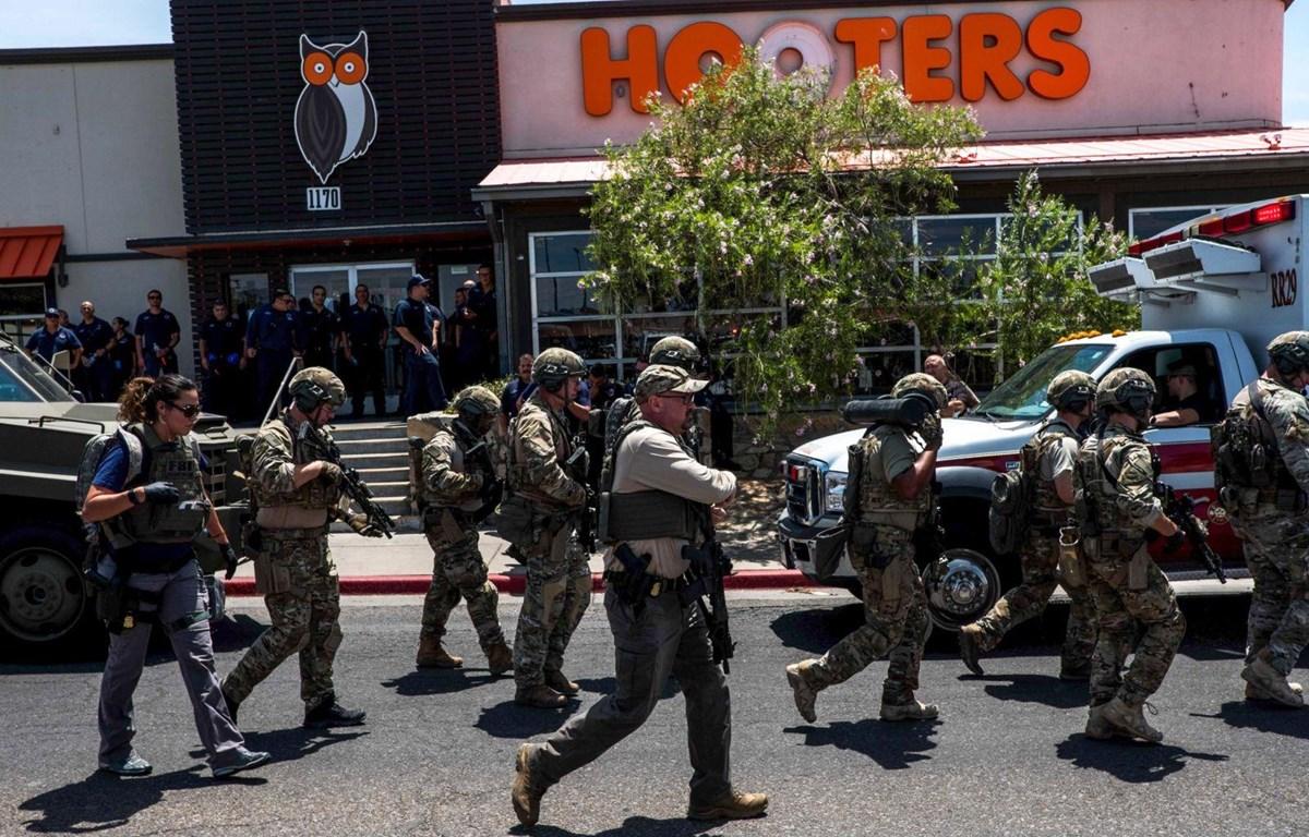 [Video] Hình ảnh thương tâm trong vụ xả súng kinh hoàng ở Texas