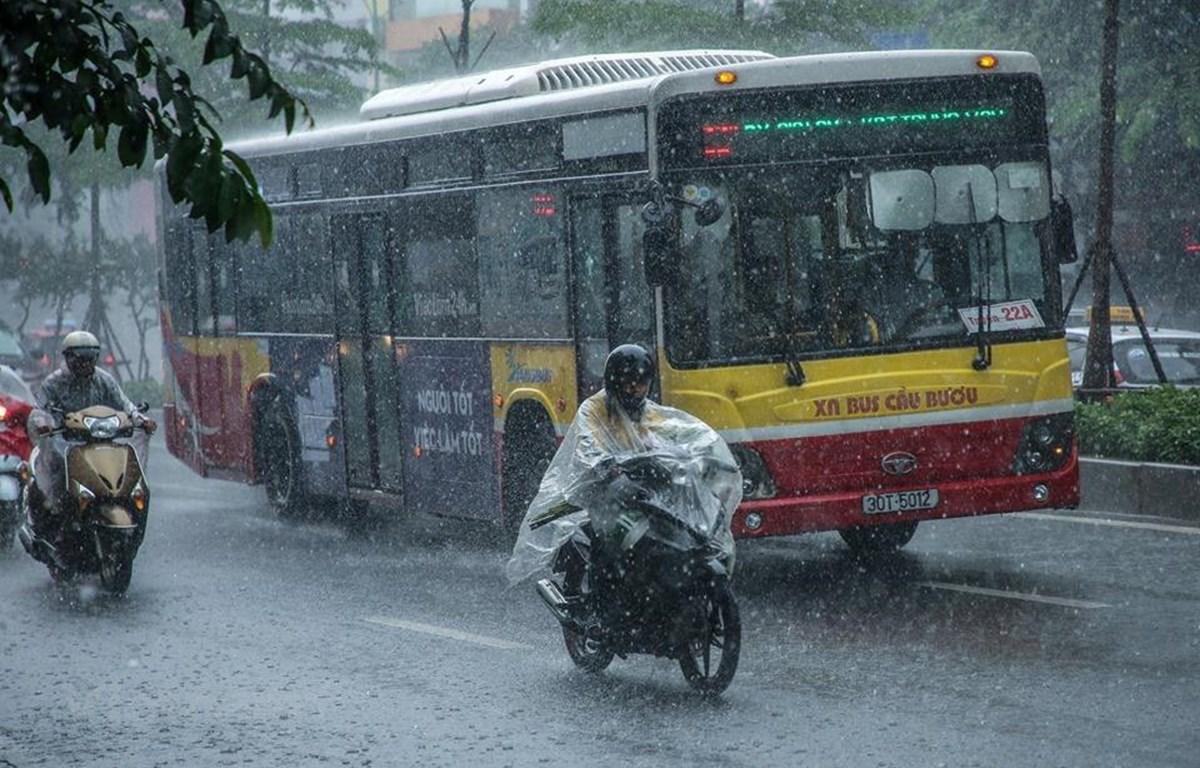 Bắc Bộ và Thanh Hóa vân tiếp tục có mưa dông. (Ảnh: Minh Sơn/Vietnam+)