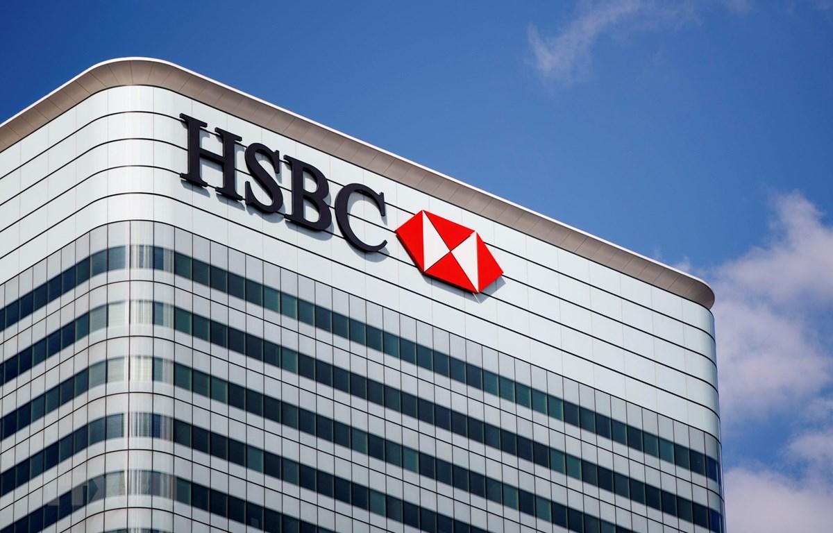 Trụ sở ngân hàng HSBC tại London, Anh. (Ảnh: AFP/TTXVN)