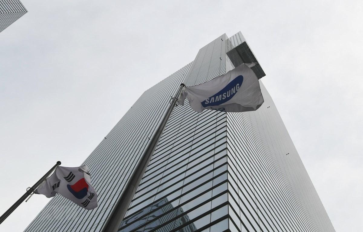 Trụ sở Samsung tại Seoul, Hàn Quốc. Ảnh: AFP/TTXVN)