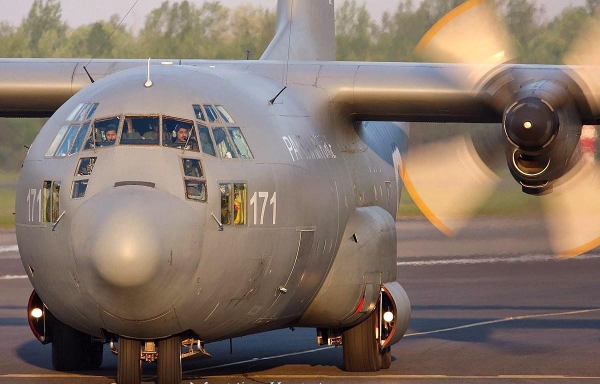Máy bay vận tải quân sự C-130 của Không quân Pakistan. (Nguồn: Pakistani Army)