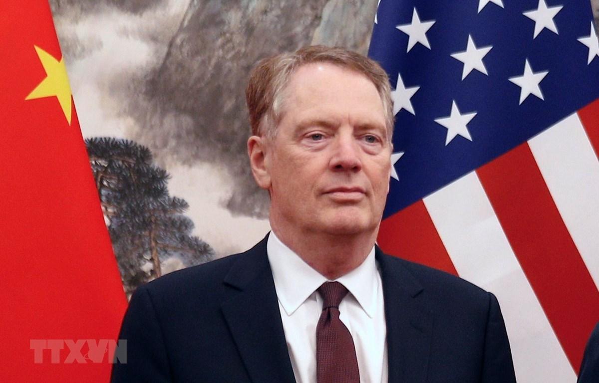Đại diện Thương mại Mỹ Robert Lighthizer. (Nguồn: AFP/TTXVN)