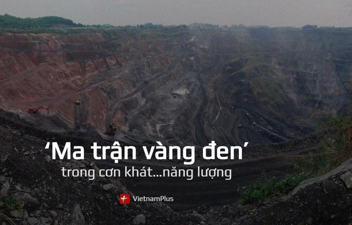 """Tác phẩm """"Ma trận vàng đen trong cơn khát năng lượng"""" của báo điện tử Vietnamplus được thể hiện công phu, gây ấn tượng với Ban tổ chức Giải"""