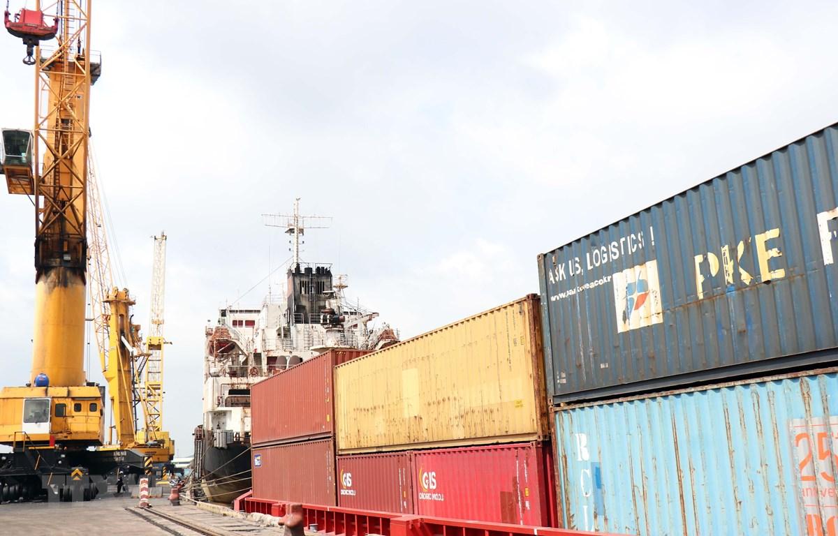 Quy hoạch phát triển vận tải biển Việt Nam đến năm 2020, định hướng đến năm 2030 đã hết hiệu lực. (Ảnh: Xuân Khu/TTXVN)