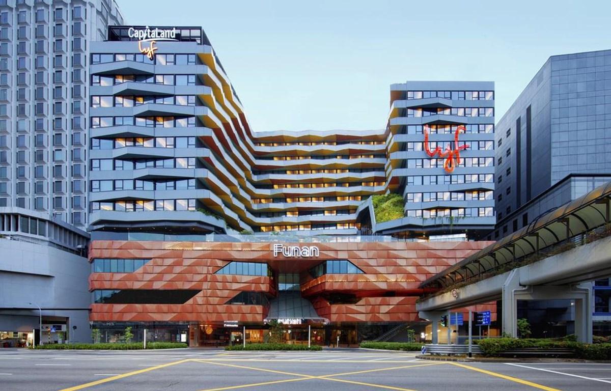 Không gian sống cộng đồng ở Funan Singapore đang được giới trẻ ưa chuộng. (Nguồn: todayonline.com)