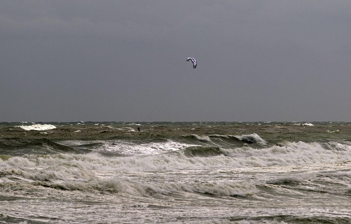 Bão Dorian có thể gây sóng cao tới 2,1 mét tại một số khu vực ở bờ biển Carolina. (Nguồn: AFP/TTXVN)