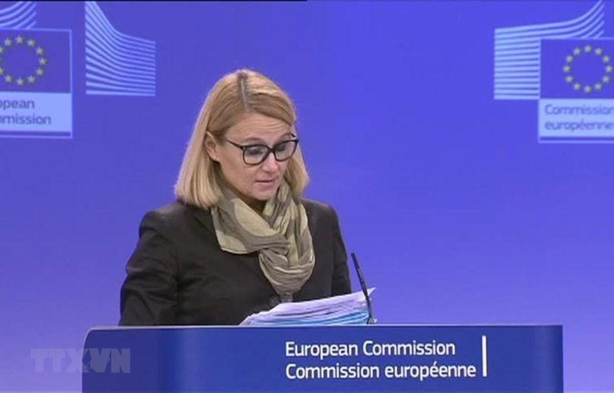 Người phát ngôn của Ủy ban châu Âu (EC), bà Maja Kocijancic. (Ảnh: The Independent/TTXVN)