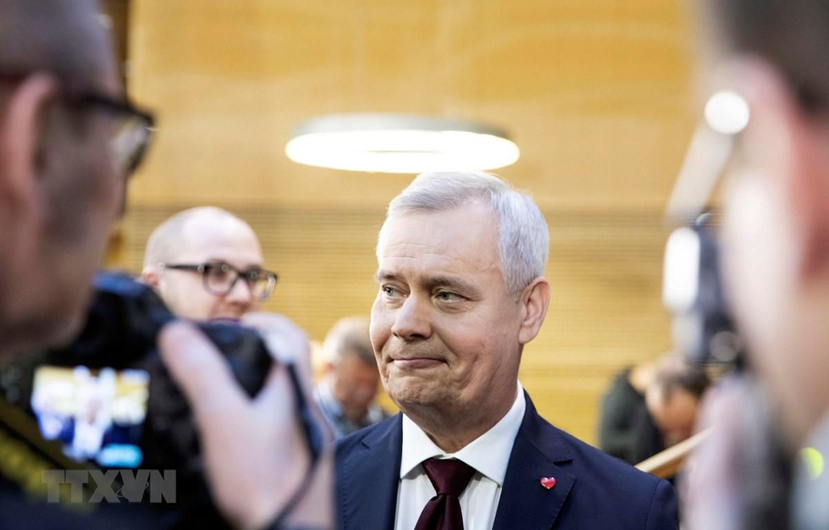 Thủ tướng Phần Lan Antti Rinne. (Ảnh: AFP/TTXVN)