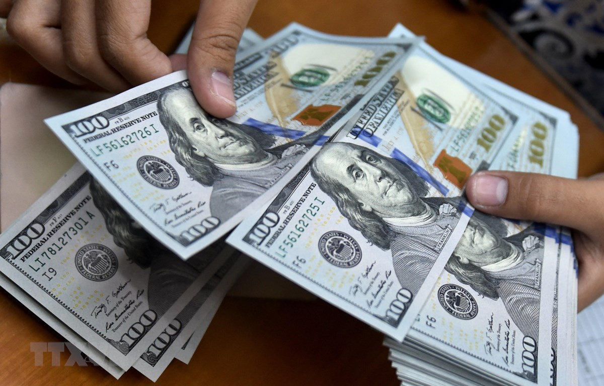 Đồng đôla Mỹ. (Ảnh: AFP/TTXVN)