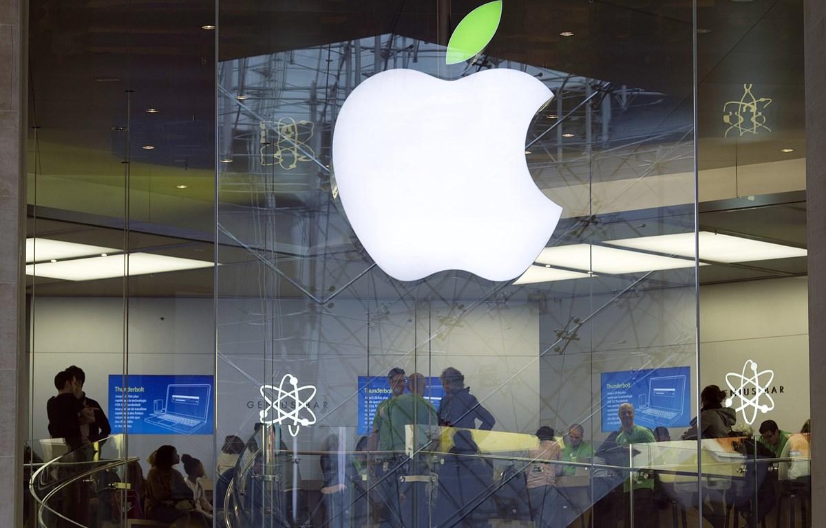Apple khẳng định là công ty trả thuế nhiều nhất thế giới, . (Ảnh: AFP/TTXVN)