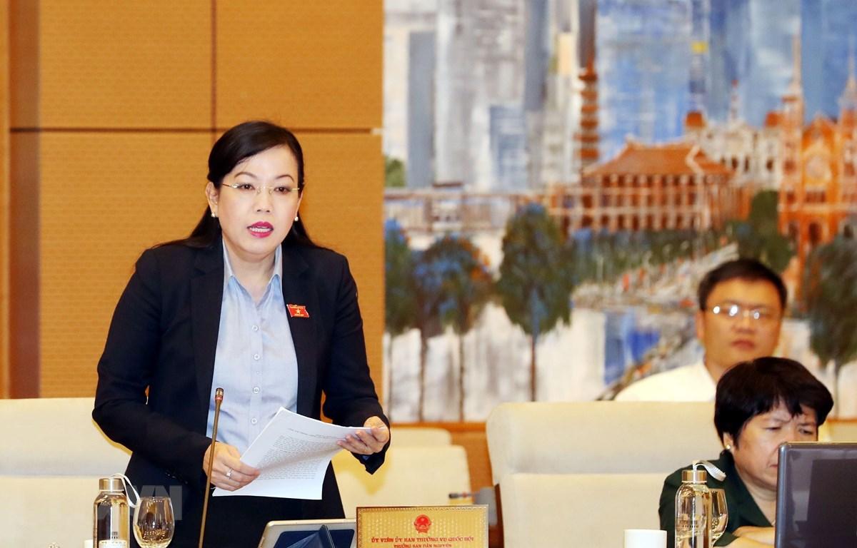Trưởng Ban Dân nguyện của Quốc hội Nguyễn Thanh Hải phát biểu. (Ảnh: Trọng Đức/TTXVN)