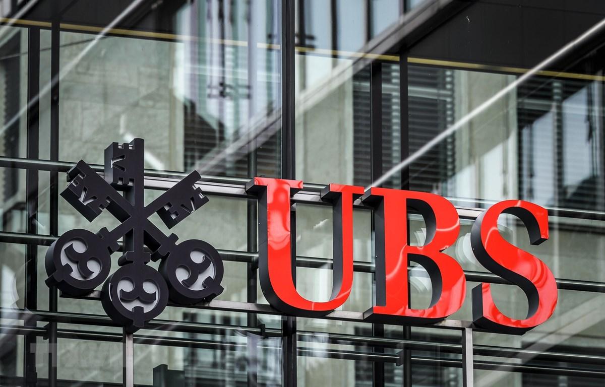 Một chi nhánh của Ngân hàng UBS ở Zurich, Thụy Sĩ. (Ảnh: TTXVN)