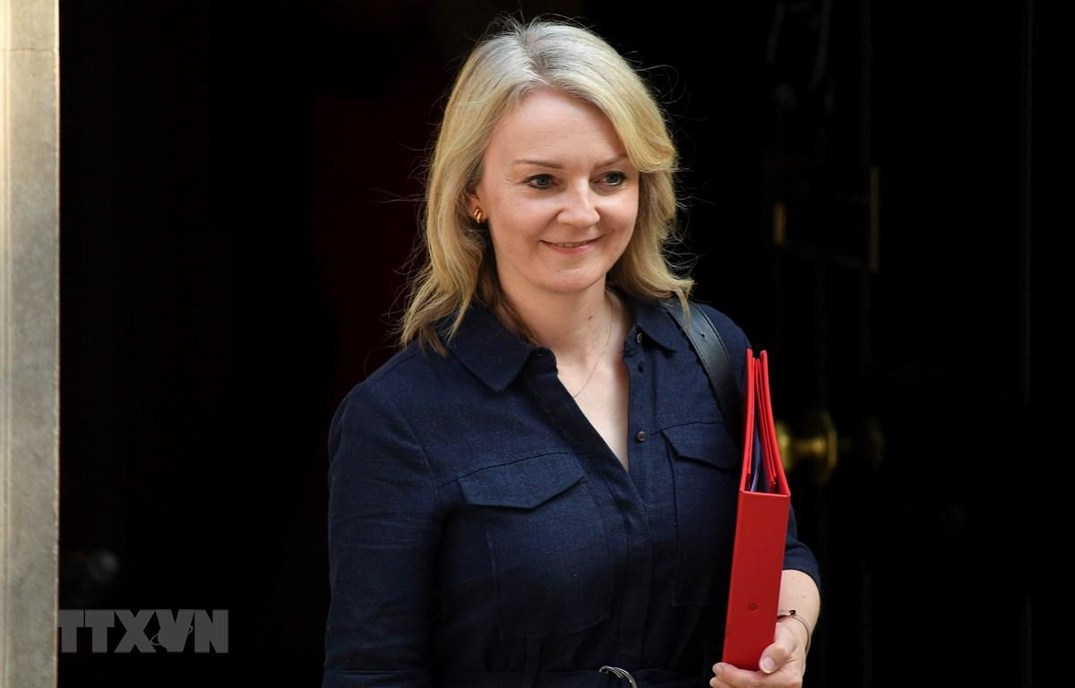 Bộ trưởng Thương mại Anh Liz Truss. (Ảnh: THX/TTXVN)