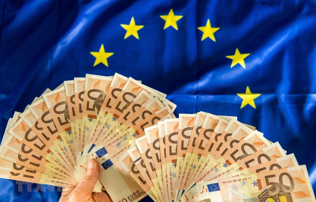 Đồng 50 euro. (Ảnh: AFP/TTXVN)