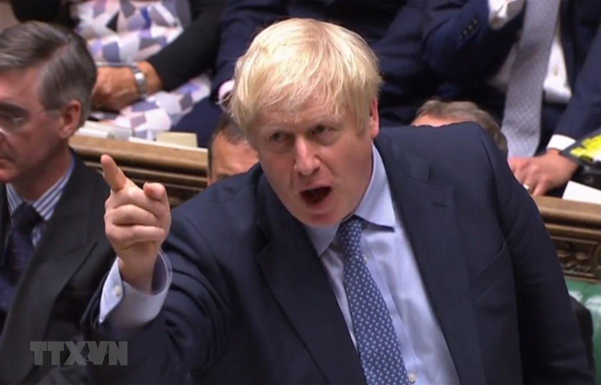 Thủ tướng Anh Boris Johnson. (Ảnh: AFP/TTXVN)