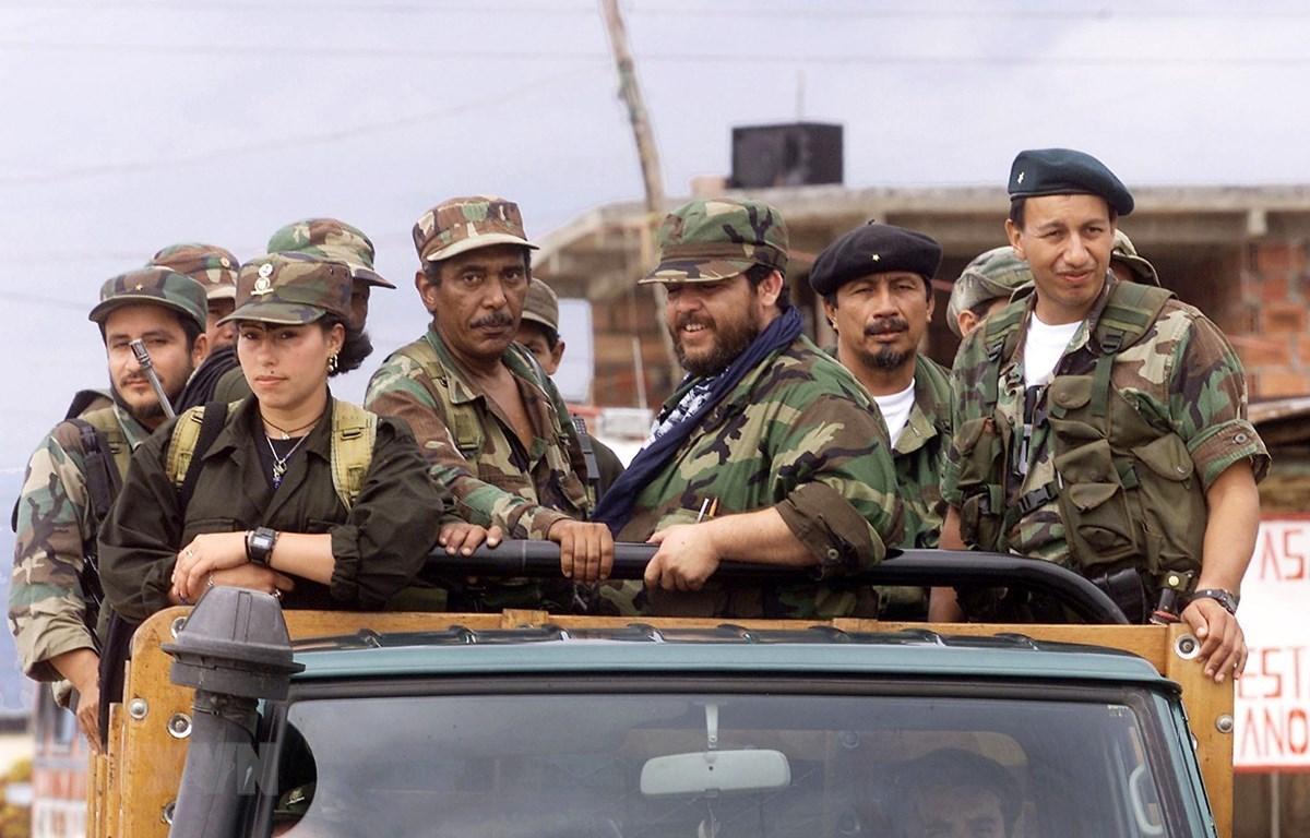 Các thành viên FARC. (Ảnh: AFP/TTXVN)