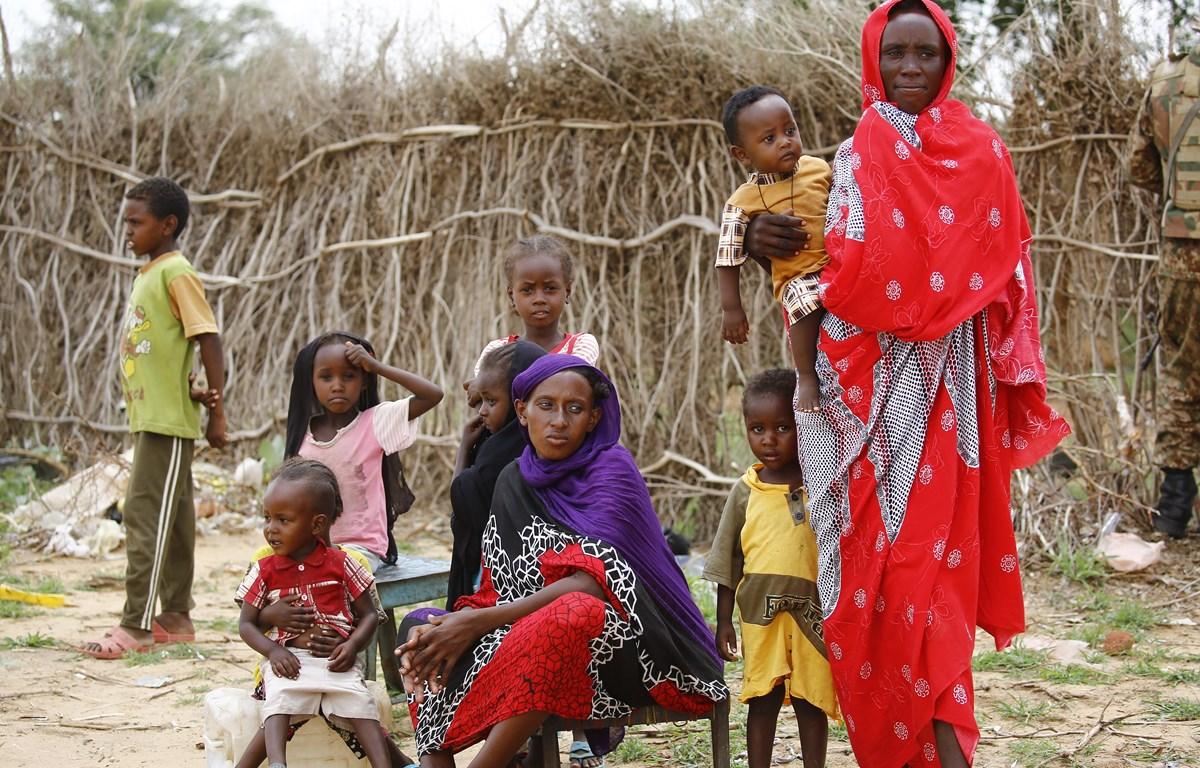 Người tị nạn Nam Sudan tại trại tị nạn Al-Nimir ở Đông Darfur. (Ảnh: AFP/TTXVN)
