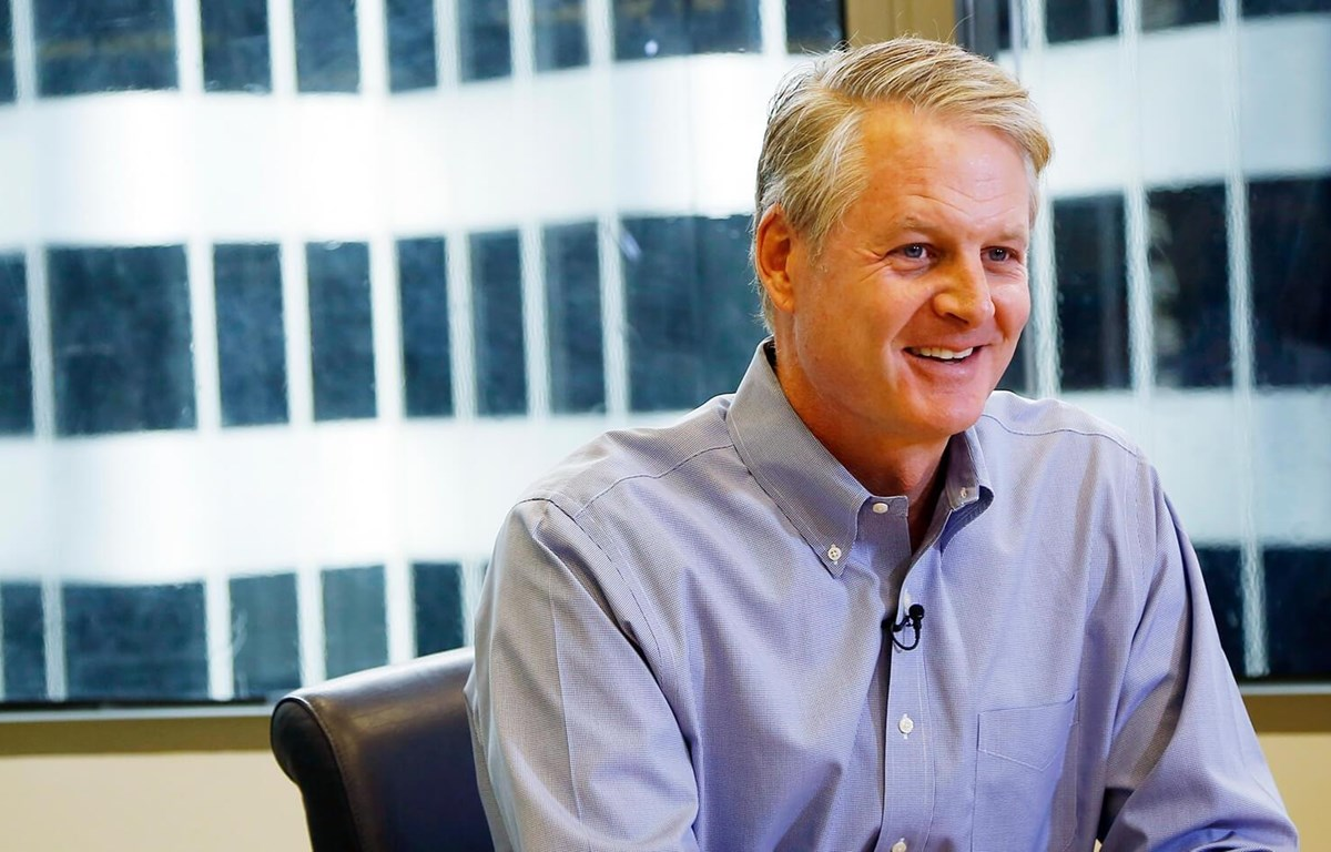 Ông John Donahoe sẽ thay thế ông Parker đảm nhận cương vị Chủ tịch kiêm CEO của Nike. (Nguồn: Reuters)