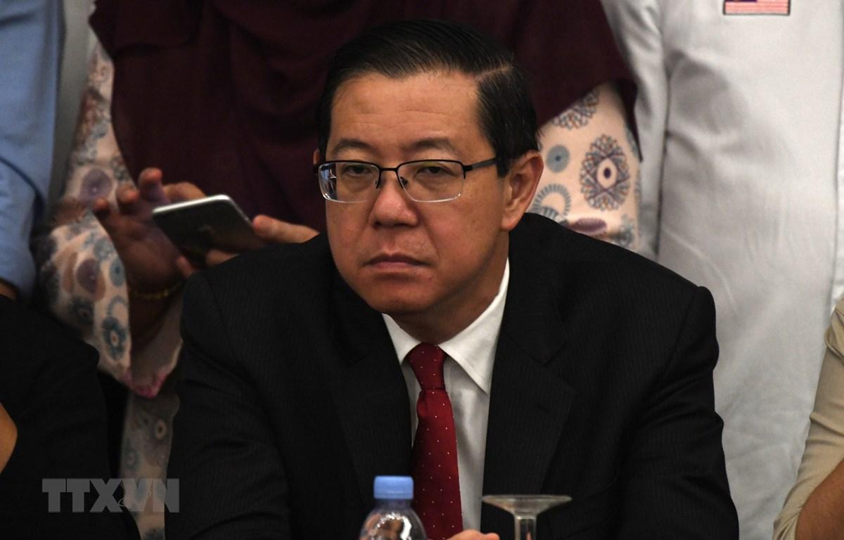 Bộ trưởng Tài chính Malaysia Lim Guan Eng. (Ảnh: AFP/TTXVN)