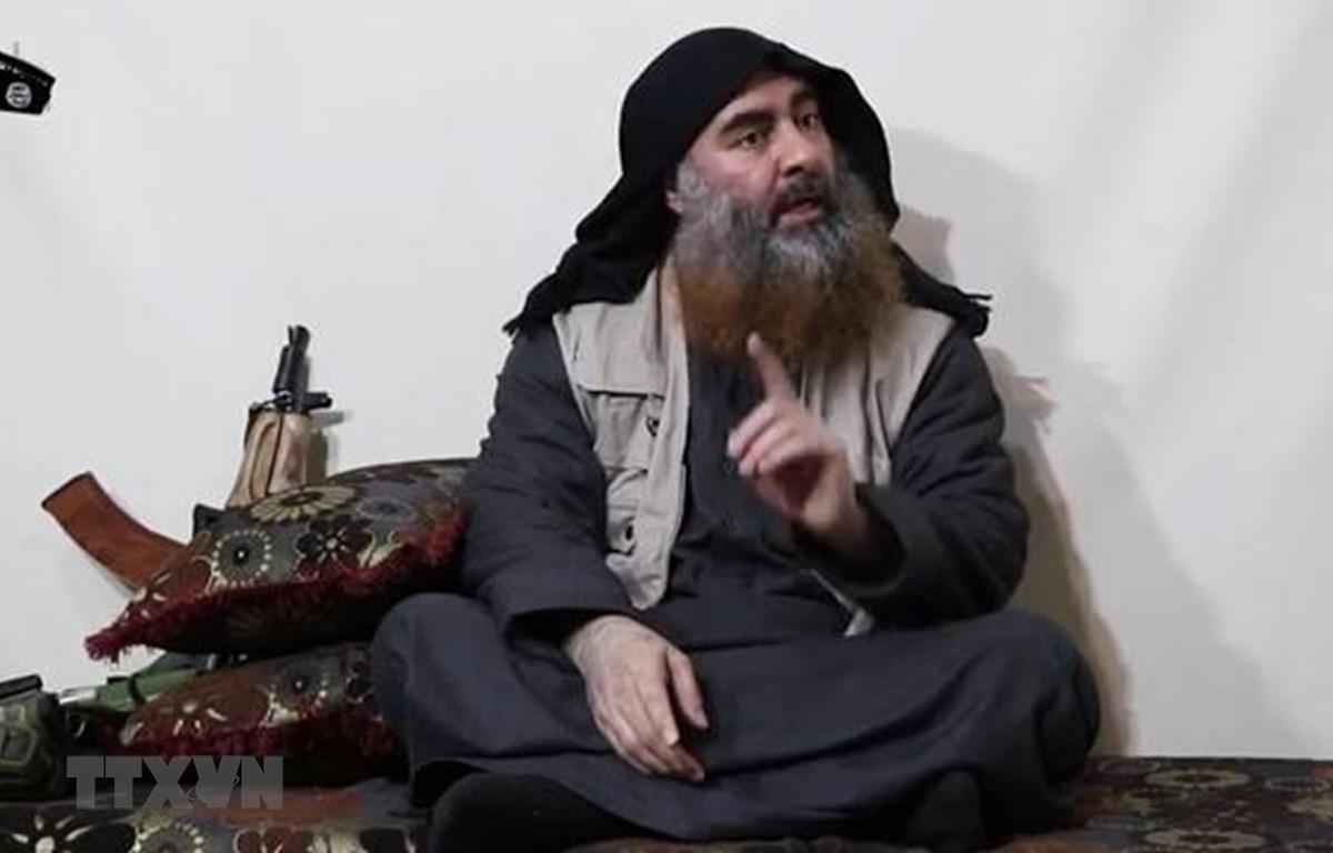Thủ lĩnh IS Abu Bakr al-Baghdadi. (Ảnh: AFP/TTXVN)