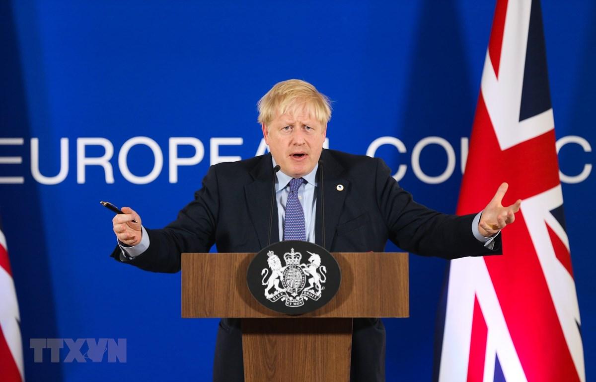 Thủ tướng Anh Boris Johnson. (Ảnh: THX/ TTXVN)