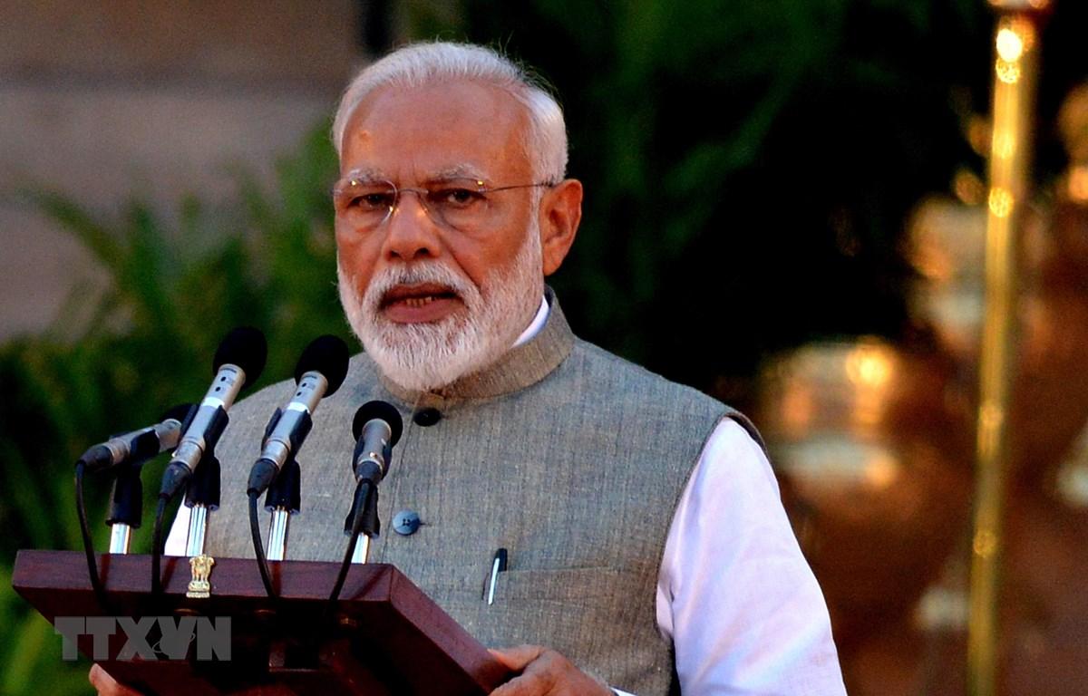 Thủ tướng Ấn Độ Narendra Modi. (Ảnh: THX/TTXVN)