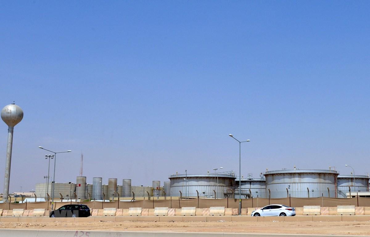 Một cơ sở lọc dầu của Aramco tại Riyadh, Saudi Arabia, ngày 15/9/2019. (Ảnh: AFP/TTXVN)