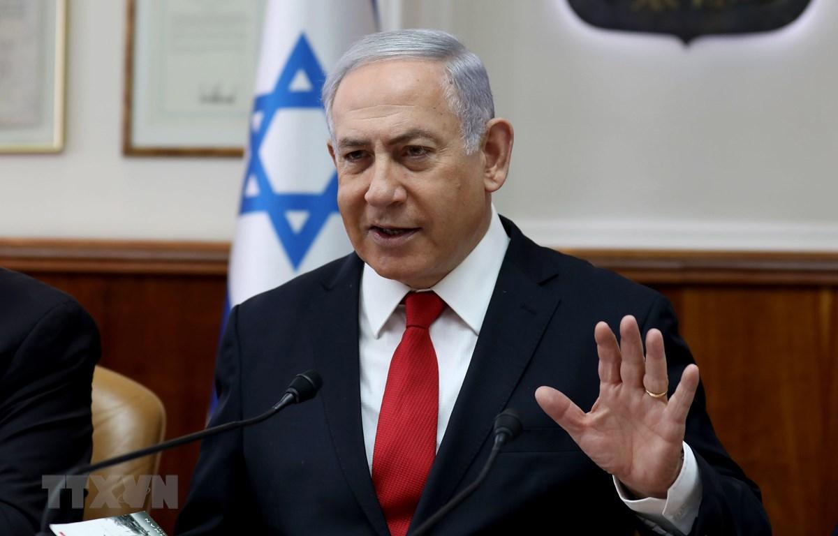 Thủ tướng Israel Benjamin Netanyahu. (Ảnh: AFP/TTXVN)
