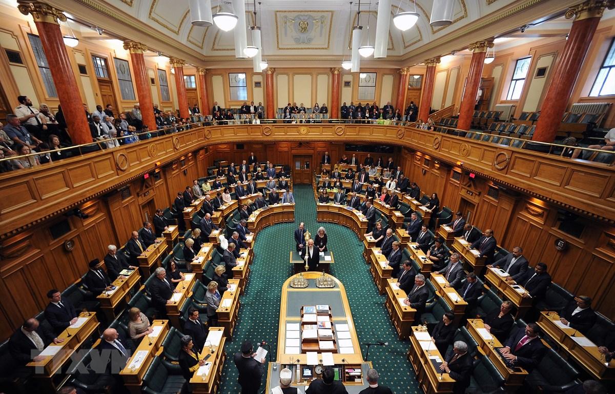 Toàn cảnh một phiên họp Quốc hội New Zealand tại Wellington. (Ảnh: AFP/ TTXVN)
