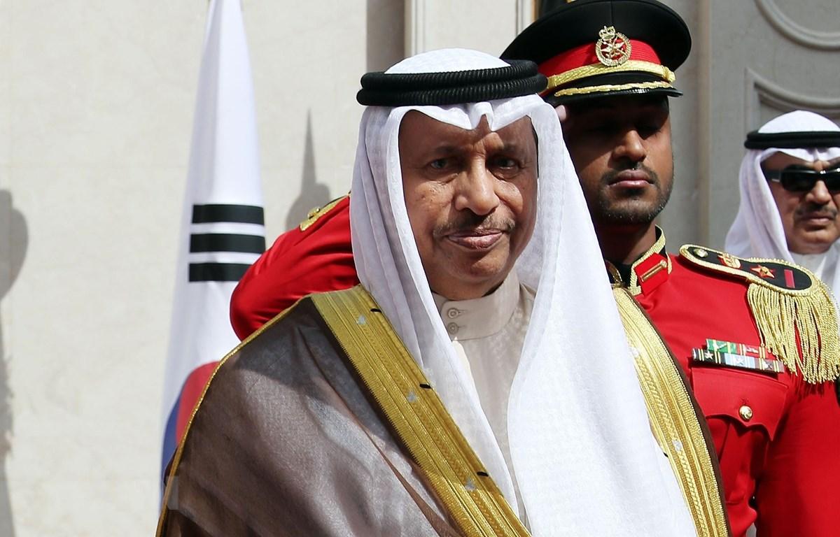 Thủ tướng Kuwait Sheikh Jaber Mubarack Al-Hamad Al-Sabah đã đệ đơn từ chức. (Ảnh: Yonhap/TTXVN)