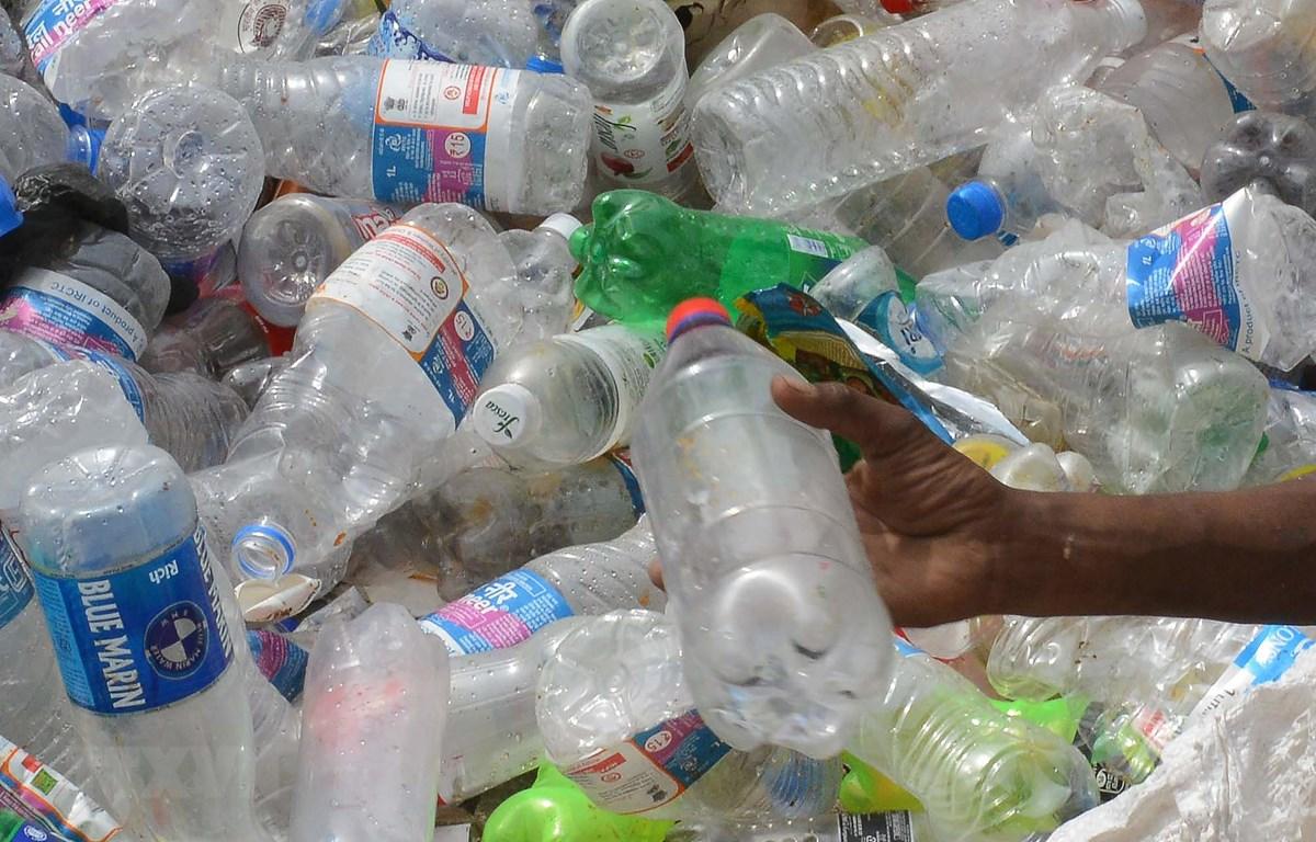 Rác thải nhựa. (Ảnh: AFP/TTXVN)