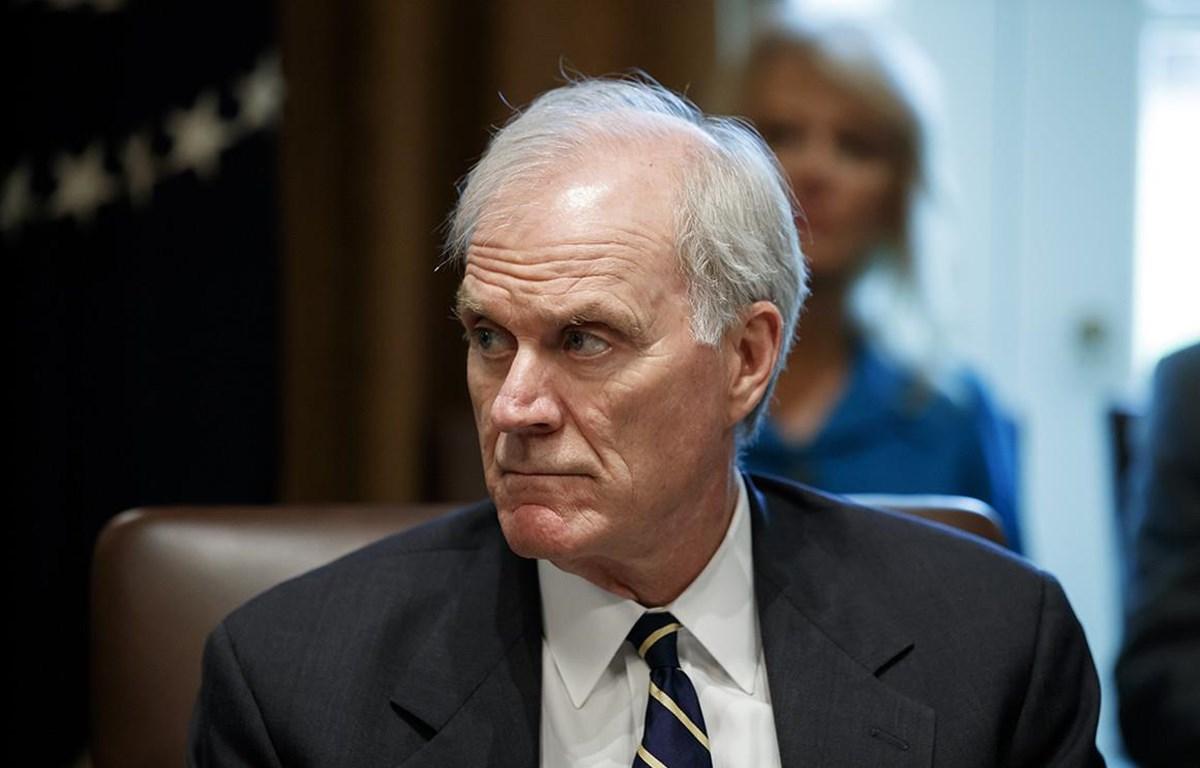 Bộ trưởng Hải quân Mỹ Richard Spencer bị buộc phải từ chức. (Nguồn: politico.com)