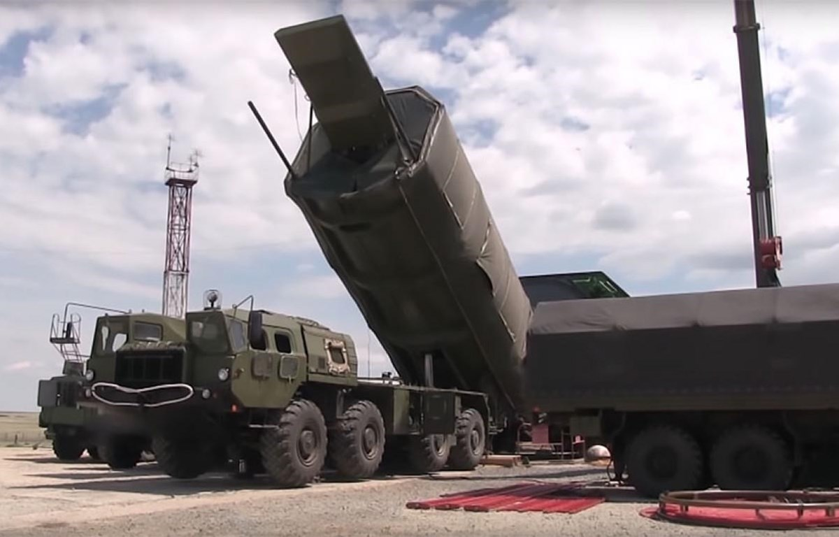 Hệ thống tên lửa liên lục địa chiến lược siêu âm Avangard. (Nguồn: themoscowtimes.com)