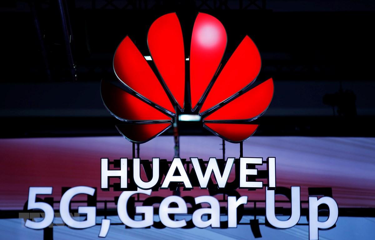 Mạng 5G của Huawei được giới thiệu tại Diễn đàn di động toàn cầu ở Zurich, Thụy Sĩ, ngày 15/10/2019. (Ảnh: AFP/TTXVN)