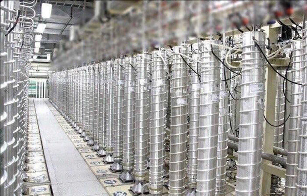 Bên trong một cơ sở hạt nhân của Iran. (Ảnh: IRNA/TTXVN)