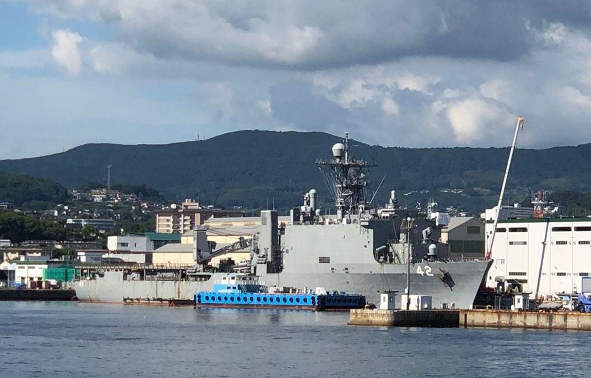 Công ty Kanto Kosan bị nghi xả nước thải trực tiếp của các tàu chiến Mỹ ra các cảng ở Yokosuka, Sasebo và Okinawa. (Nguồn: anticorruptiondigest.com)