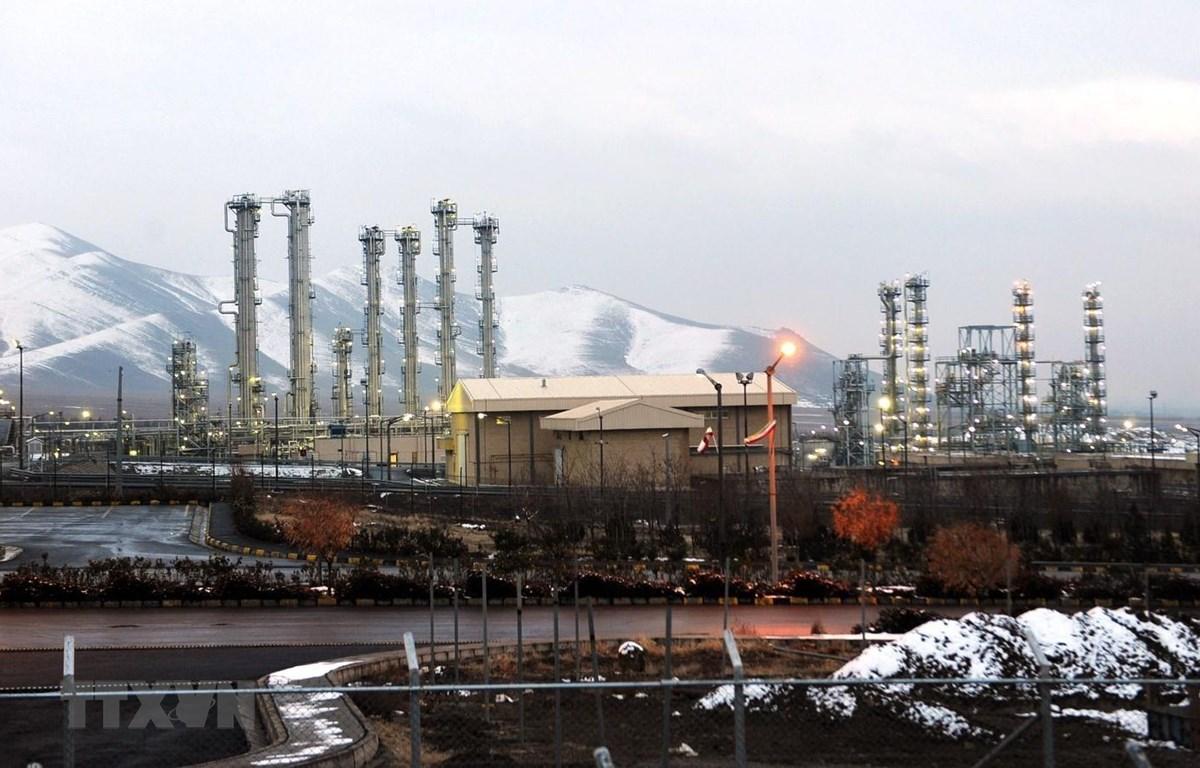 Nhà máy nghiên cứu nước nặng Arak, cách thủ đô Tehran (Iran) 320km về phía Nam. (Ảnh: AFP/TTXVN)